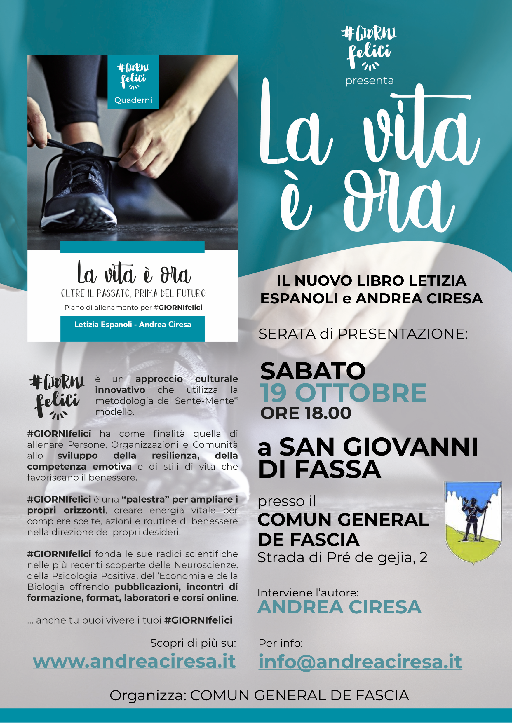Andrea Ciresa - la vita è ora - Val di Fassa