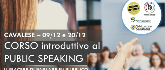 serate Public speaking cavalese